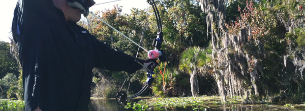 Airboat Trips and Bow Fishing Charters with Capt. Nick